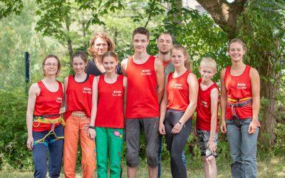 Podium bei der Landesmeisterschaft Lead – Wuppertal