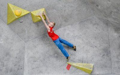 Starker Auftritt der Wettkampfgruppe bei der NRW-Landesmeisterschaft Bouldern in Köln