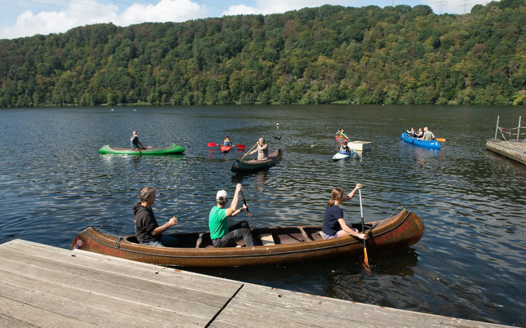 Kanuwochenende in Hagen