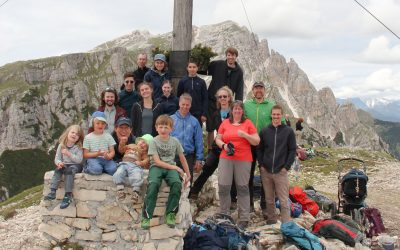 JDAV Sommerfreizeit in Toblach und auf der Edelrauthütte