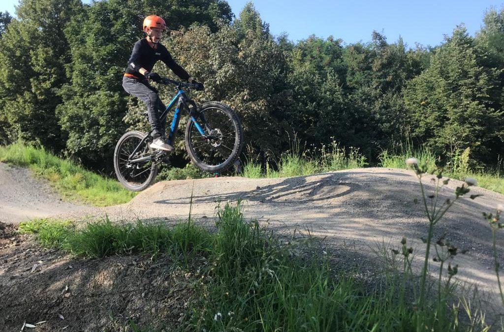 MTB-Kurs im Bikepark in Lünen